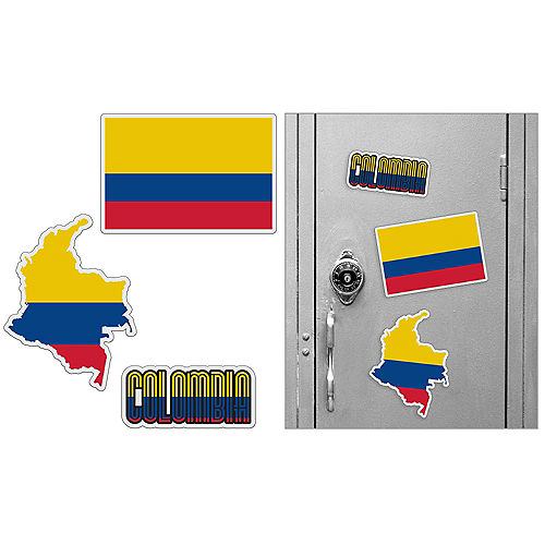 Colombian Magnets 3pc Image #1