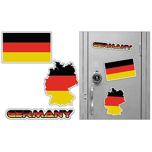 German Magnets 3pc Image #1