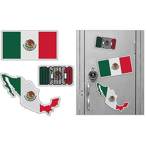 Mexican Magnets 3pc Image #1