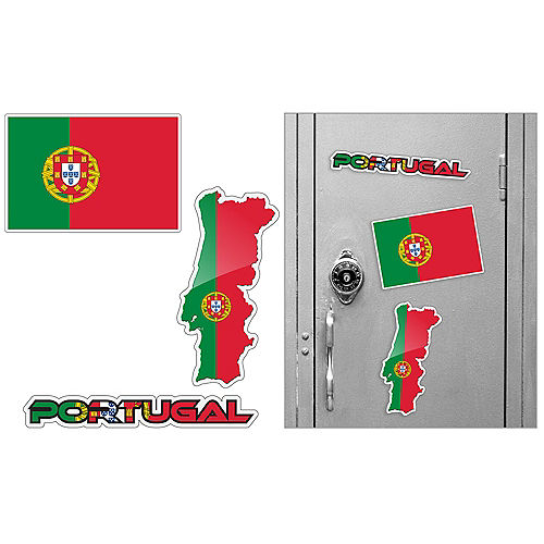 Portuguese Magnets 3pc Image #1