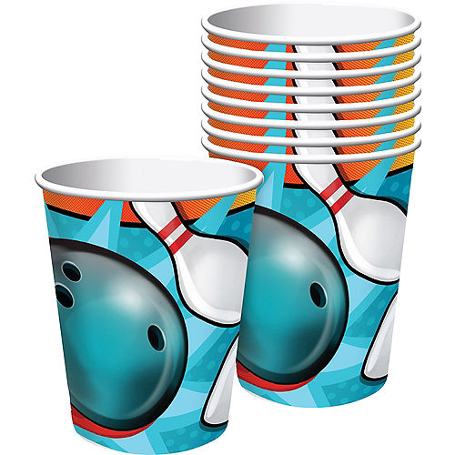 Bowling Cups 8ct Image #1