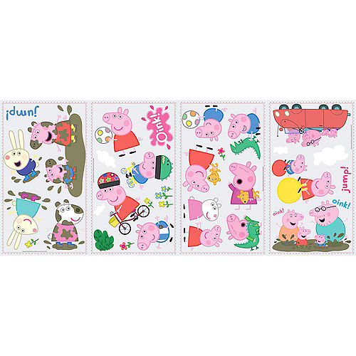 Peppa Pig Wall Decals 28ct Image #2