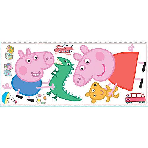 George & Peppa Pig Wall Decals 8ct Image #2