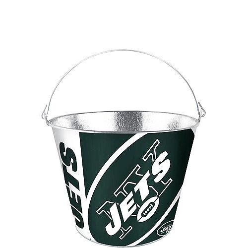 New York Jets Galvanized Bucket Image #1