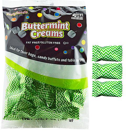 Kiwi Green Chevron Pillow Mints 50ct Image #1
