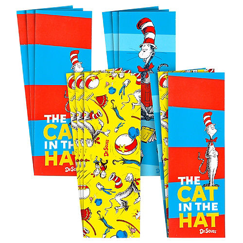 Cat in the Hat Bookmarks 12ct - Dr. Seuss Image #1