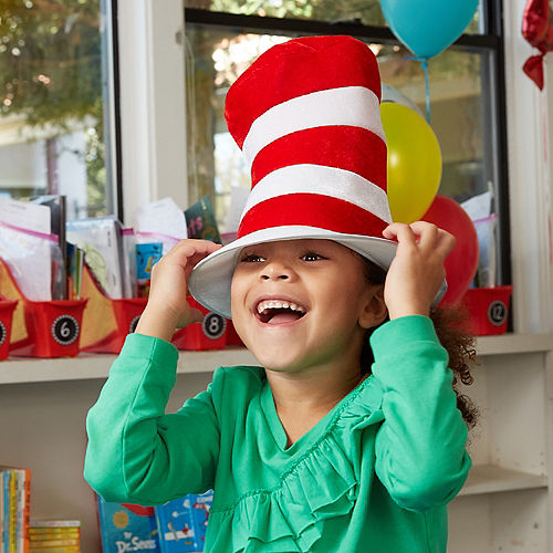 Child Cat in the Hat Top Hat - Dr. Seuss Image #2