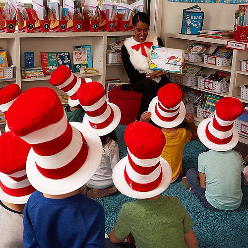 Child Cat in the Hat Top Hat - Dr. Seuss Image #4