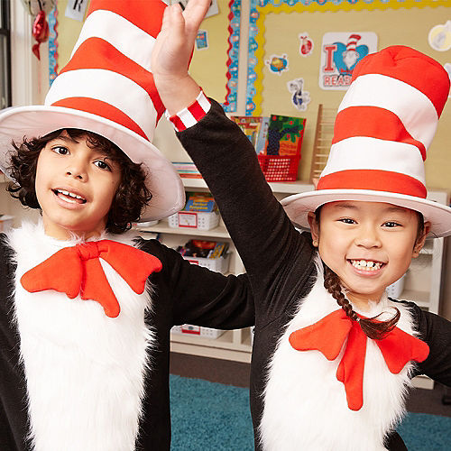 Child Cat in the Hat Top Hat - Dr. Seuss Image #5