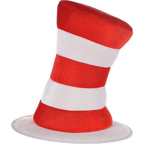 Adult Cat in the Hat Top Hat - Dr. Seuss Image #1