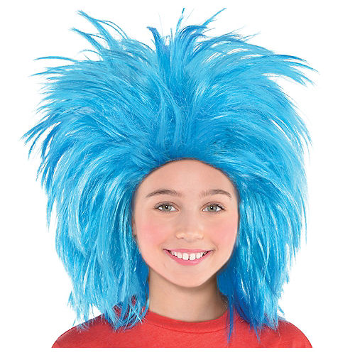Thing 1 & Thing 2 Wig - Dr. Seuss Image #1