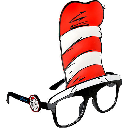 Cat in the Hat Glasses - Dr. Seuss Image #2