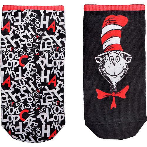 Child Cat in the Hat Socks - Dr. Seuss Image #2
