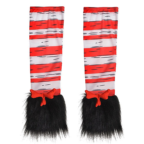 Womens Cat in the Hat Arm Warmers - Dr. Seuss Image #2