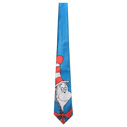 Adult Cat in the Hat Tie - Dr. Seuss Image #1