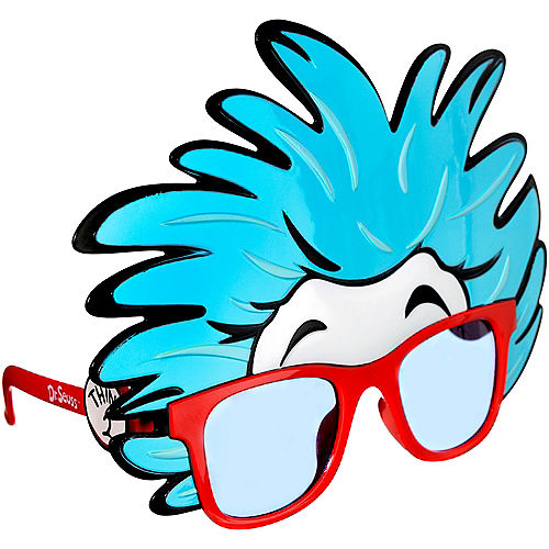 Thing 1 & Thing 2 Glasses - Dr. Seuss Image #2
