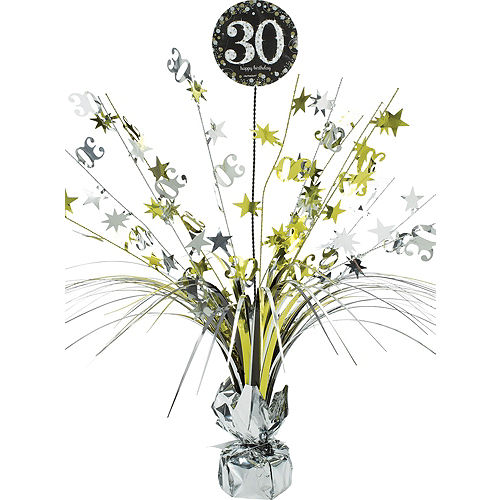 Sparkling Celebration 30th Birthday Party Kit for 32 Guests Image #9