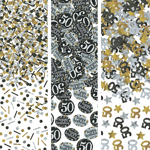 Sparkling Celebration 50th Birthday Party Kit for 32 Guests Image #10