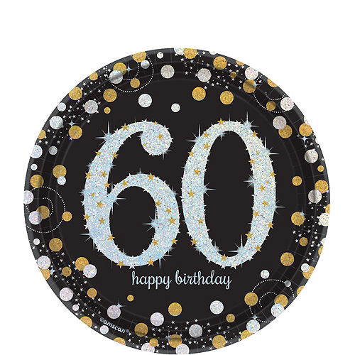Sparkling Celebration 60th Birthday Party Kit for 32 Guests Image #2