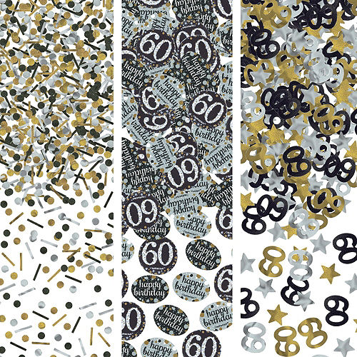 Sparkling Celebration 60th Birthday Party Kit for 32 Guests Image #10