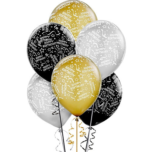 Sparkling Celebration 30th Birthday Decorating Kit with Balloons Image #6