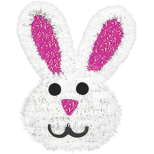 Tinsel Easter Bunny Image #1