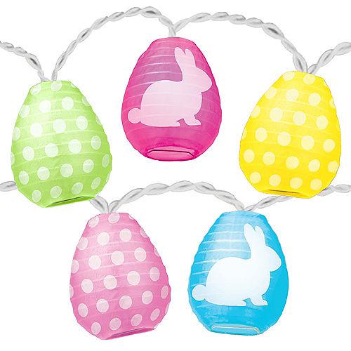 Easter Egg Lantern String Lights Image #2