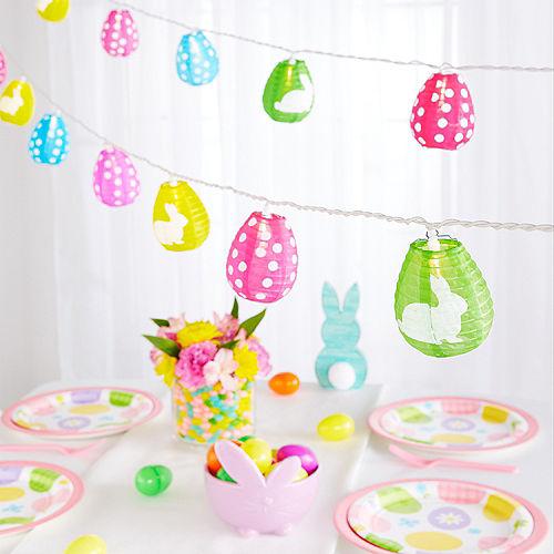 Easter Egg Lantern String Lights Image #4