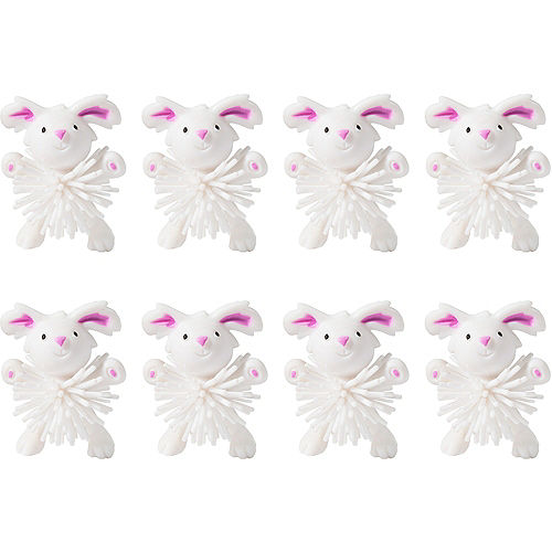 Easter Bunny Wooly Balls 8ct Image #1