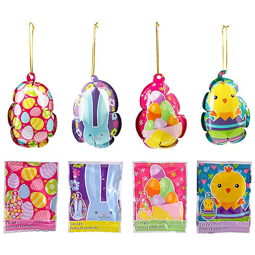Easter Self-Inflating Balloons 4ct Image #1