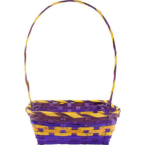 Medium Purple Square Easter Basket Image #1