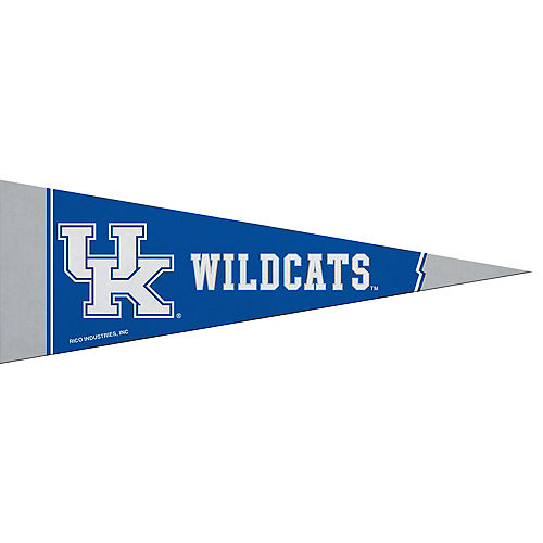 Small Kentucky Wildcats Pennant Flag Image #1