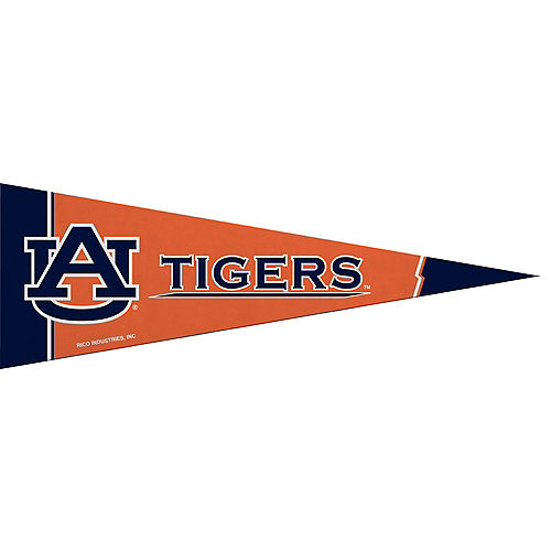 Small Auburn Tigers Pennant Flag Image #1