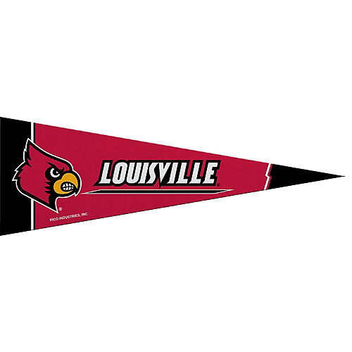 Small Louisville Cardinals Pennant Flag Image #1