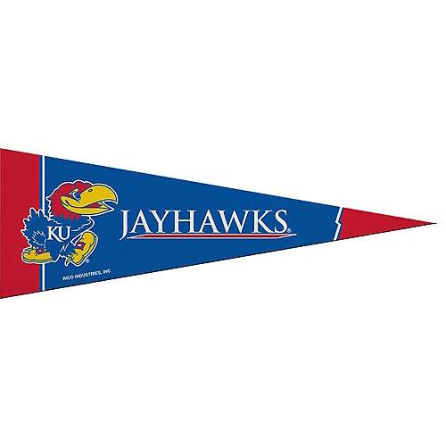 Small Kansas Jayhawks Pennant Flag Image #1