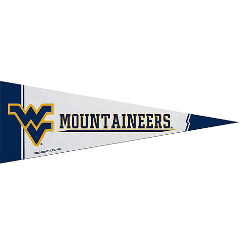 Small West Virginia Mountaineers Pennant Flag Image #1