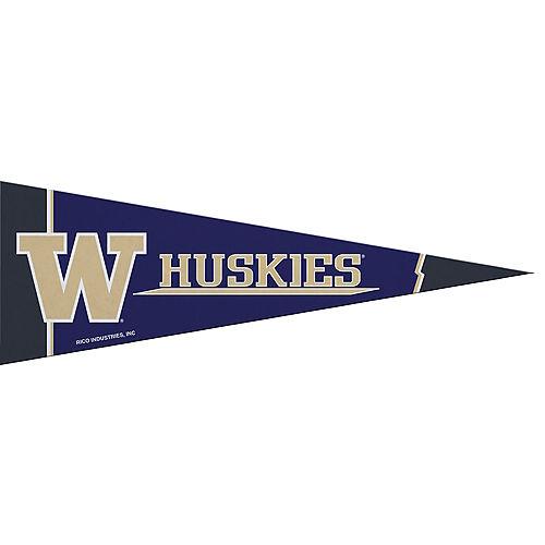 Small Washington Huskies Pennant Flag Image #1