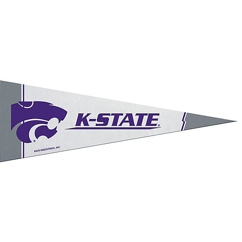 Small Kansas State Wildcats Pennant Flag Image #1