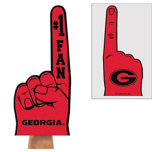 Georgia Bulldogs Foam Finger Image #1