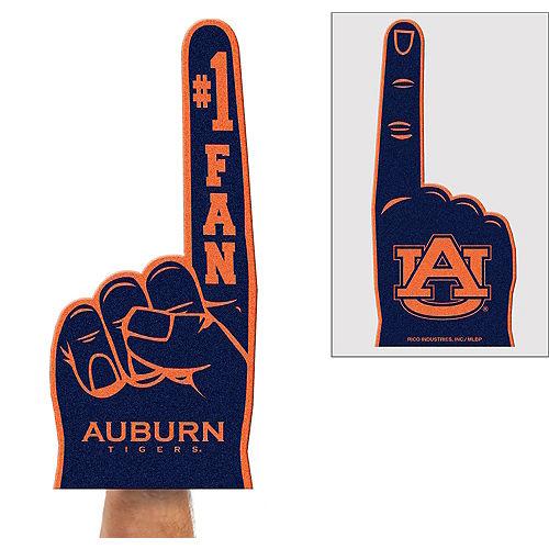 Auburn Tigers Foam Finger Image #1