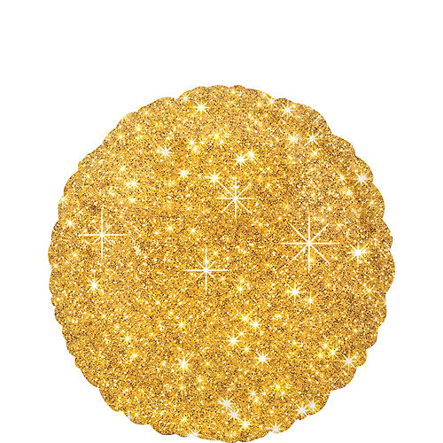 Gold Sparkling Balloon, 18in Image #1