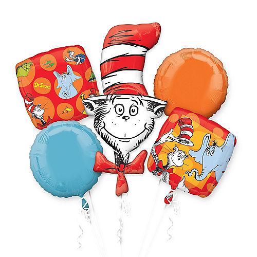 Dr. Seuss Balloon Bouquet 5pc Image #1