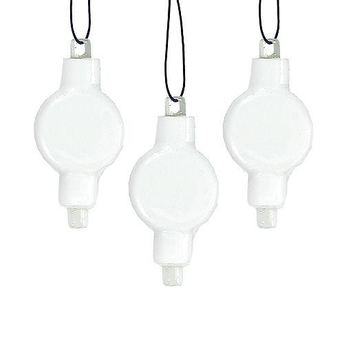LED Paper Lantern Lights 3ct Image #1