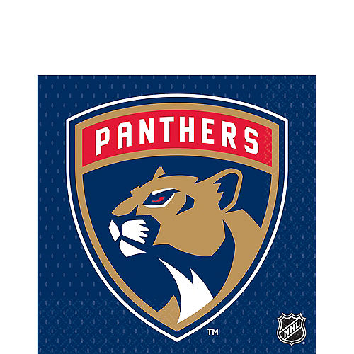 Florida Panthers Lunch Napkins 16ct Image #1