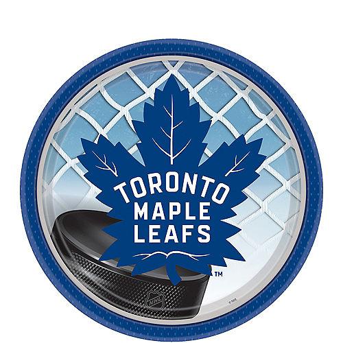 Toronto Maple Leafs Dessert Plates 8ct Image #1