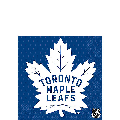 Toronto Maple Leafs Beverage Napkins 16ct Image #1