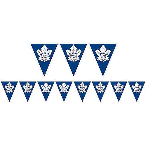 Toronto Maple Leafs Pennant Banner Image #1