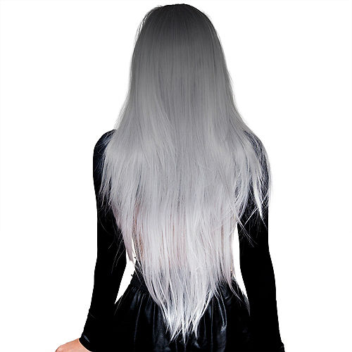 Silver White Ombre Cosplay Wig Image #2