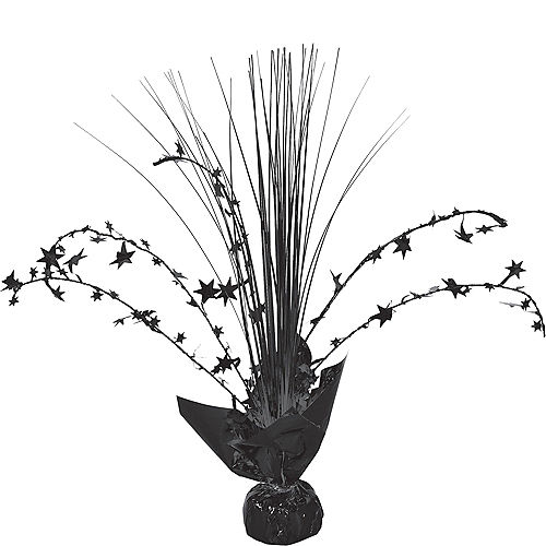 Black Spray Centerpiece Image #1