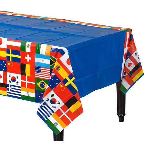 International Flag Party Kit for 8 Guests Image #7